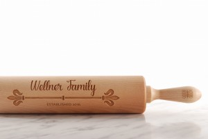 FAMILY NAME - embossing rolling pin