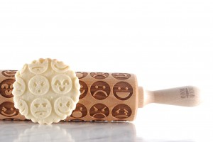EMOJI - embossing rolling pin, the thing your teenager (probably) does not have yet