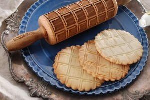 CHOCOLATE BAR - MINI embossing rolling pin  with original design