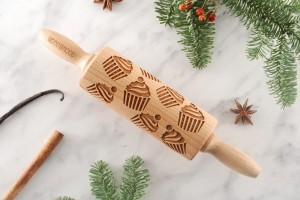 CUPCAKES - MINI embossing rolling pin