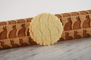 ABYSSINIAN - embossing rolling pin, gift for cats breeds lover