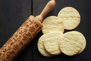 AHOY! - embossing rolling pin, gift (not obly)  for nasty pirates