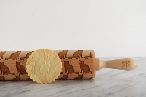 AMERICAN SHORTHAIR - embossing rolling pin, for cats' lover
