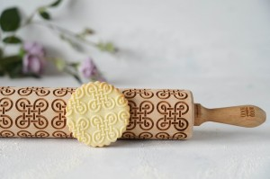 CELTIC KNOT - embossing rolling pin, tattoo-like design