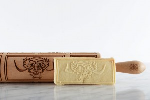 CHINESE NEW YEAR - embossing rolling pin for cookies