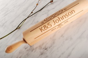 ESPECIALLY FOR YOU - personalized embossing rolling pin