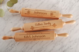 HOUSEWARMING GIFT -  personalized embossing rolling pin, best gift idea