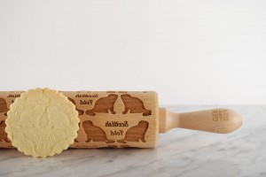 SCOTTISH FOLD  -  embossing rolling pin, with this original cat