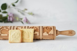 ZODIAC - embossing rolling pin, brand new design