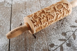 WOOF!WOOF! - MINI embossing rolling pin, for dogs lovers